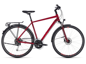 Rower Cube Touring Exc darkred 'n' red 2018