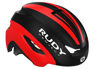 Kask Rudy Project Volantis szosowy black/red