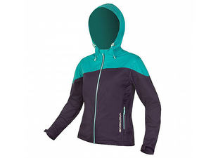 Kurtka Endura Single Track Softshell Wms damska granat