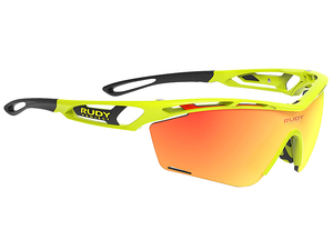 Okulary Rudy Project Tralyx Slim Yellow Fluo Gloss - RP Optics Multilaser Orange