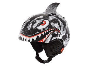 Kask nar. Giro Launch Plus Blk Gry Tiger Shark S