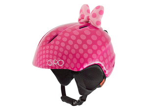 Kask nar. Giro Launch Plus Pink Bow Polka Dots S