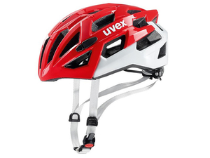 Kask  Uvex race 7 black red white