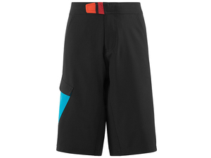 Spodenki Cube Junior shorts black/blue/white