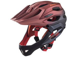 Kask Alpina King Carapax  Indigo-Cherry-Drop