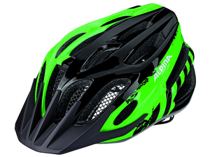 Kask Alpina  FB Junior 2.0 Black-Green 50-55cm