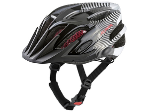 Kask Alpina  FB Junior 2.0 Black-White- Red 50-55cm