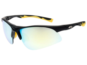 Okulary juniorskie Goggle E992-2 juniorskie matt black/yellow