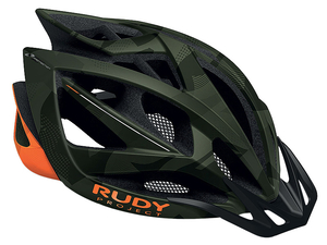 Kask Rudy Project Airstorm MTB green camo/orange