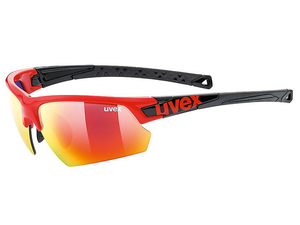 Okulary Uvex Sportstyle 224 black red black