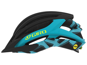 Kask MTB Giro Artex Integrated MIPS Matte Black / Iceberg Reveal