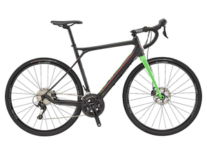 Rower GT Grade Carbon 105 raw/neon green 2017