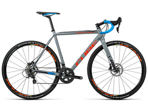 Rower Cube Cross Race Sl grey/flashorange 2016