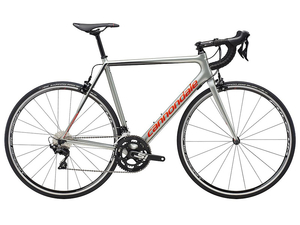 Rower Cannondale Super Six EVO 105 sage gray/acid red 2019