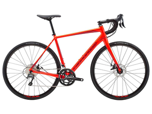 Rower Cannondale Synapse Disc Tiagra red 2018
