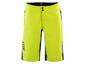 Spodenki Fox Attack Q4 CW Acid Green r. 30