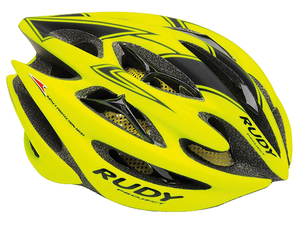 Kask Rudy Project Sterling yellow fluo/black r.S/M