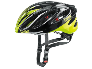 Kask Uvex Boss Race szosowy black/neon yellow