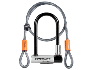 Zapięcie Kryptonite Kryptolok Mini 7 8.2x17.8cm + Kryptoflex Cable