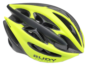 Kask Rudy Project Sterling+ szosowy yellow fluo/black matte