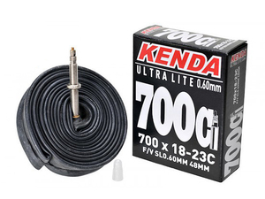 Dętka Kenda 700 x 18-23C FV 48mm BOX ULTRA LITE