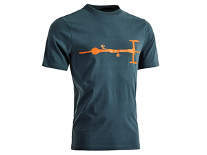 Koszulka Cube T-Shirt 10978 Bike męska blue/orange