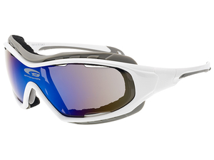 Okulary Goggle T651-4 white/grey