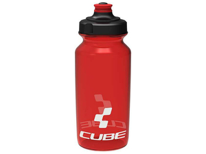 Bidon Cube Bottle Icon 0,5L red - czerwony