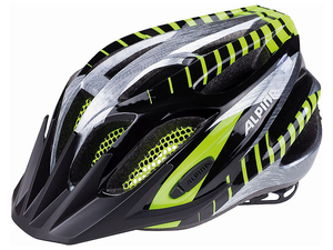 Kask Alpina FB Junior 2.0 dziecięcy r. 50-55cm black/steelgray/neon green