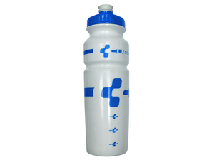Bidon Cube Bottle Logo 750ml white/blue