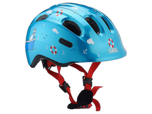 Kask Abus Smiley 2.0 dziecięcy turquoise sailor