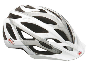 Kask Bell Sequence MTB white/silver matte rozmiar S