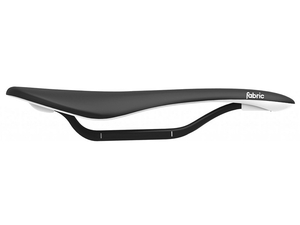 Siodło Fabric Scoop Flat Pro black/white