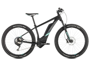 Rower Cube Access Hybrid Race 500 27,5 black 'n' mint 2019