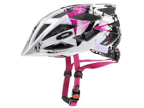 Kask Uvex Air wing white-pink 52-57cm-23064